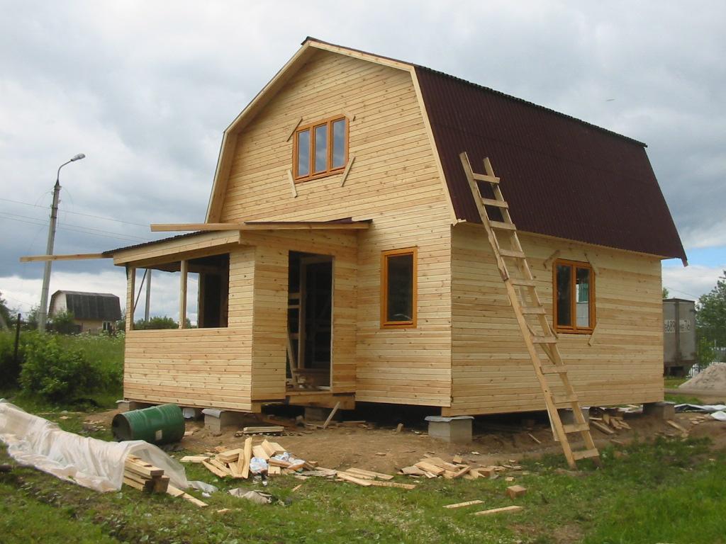 Строительство домов фото дачных домов