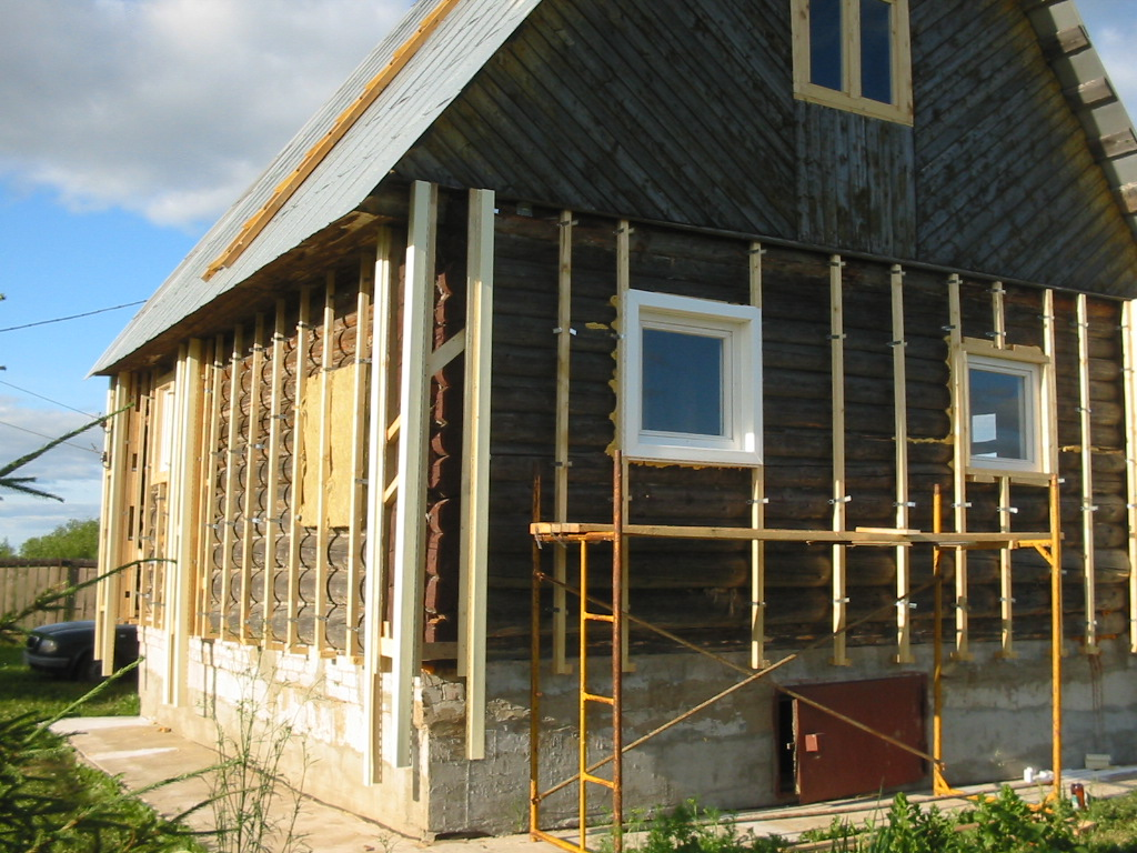 монтаж деревянного сайдинга